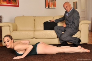 Submissive Lily LaBeau gets tortured and shagged by her teacher № 886485 загрузить
