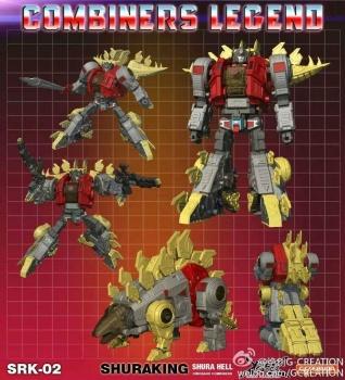 [GCreation] Produit Tiers - Jouet ShuraKing - aka Combiner Dinobots - Page 2 Qsav3Gl7