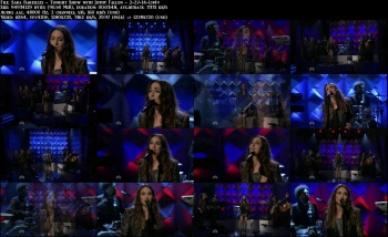 Sara Bareilles - Tonight Show with Jimmy Fallon - 2-27-14