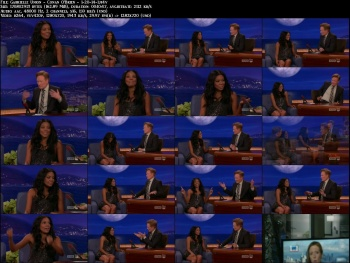Gabrielle Union - Conan O'Brien - 1-20-14