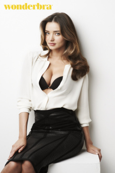 Miranda Kerr - Wonderbra Shoot