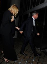 Sean Penn - Charlize Theron and Sean Penn - seen leaving Royal Festival Hall. London - February 16, 2015 (153xHQ) XmlhFU5L