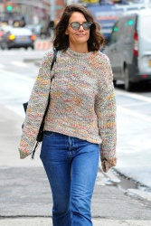 Katie Holmes - Out in Manhattan 4/25/17