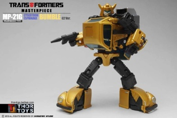[Masterpiece] MP-21G Bumblebee/Bourdon G2 + MP-21R Bumblebee/Bourdon Rouge T2cCOnli