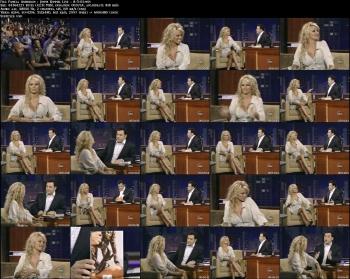 Pamela Anderson - Jimmy Kimmel Live - 8-3-05