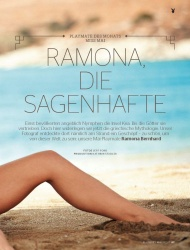 Ramona Bernhard in Playboy May 2015 (5 2015) Germany