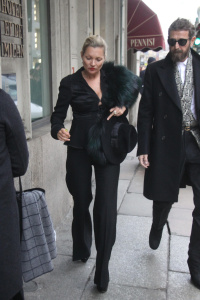 Kate Moss- Out & About in Milan - February 27th 2017