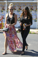 Nina Dobrev with Hilary at Alfred Coffee & Kitchen in West Hollywood (July 29) PNMJPjmr