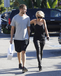 Calvin Harris and Rita Ora - out and about in Los Angeles - September 18, 2013 - 16xHQ Y6qVPhgQ
