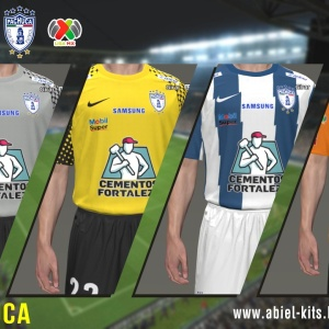 Download C.F. Pachuca Liga MX CL 2014 Kits by ABIEL