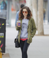 Lily Collins - Out in Beverly Hills 5/30/17