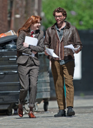 Карен Гиллан, фото 201. Karen Gillan - Set of 'Not Another Happy Ending' in Glasgow, Scotland - 7/20/12, foto 201