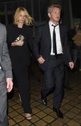 Sean Penn - Charlize Theron and Sean Penn - seen leaving Royal Festival Hall. London - February 16, 2015 (153xHQ) NbOehzdy