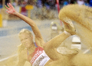 Дарья Клишина, фото 31. Darya Klishina 13th IAAF World Athletics Championship, Daegu, South Korea - 28.08.2011, foto 31