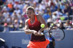 Simona Halep - 2015 US Open Day Eight: 4th Round vs. Sabine Lisicki @ BJK National Tennis Center in Flushing Meadows - 09/07/15