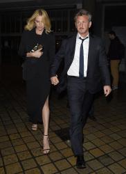 Sean Penn - Charlize Theron and Sean Penn - seen leaving Royal Festival Hall. London - February 16, 2015 (153xHQ) ZAAirlXF