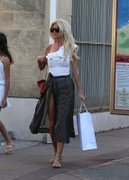 Victoria Silvstedt -                St. Tropez July 14th 2017.