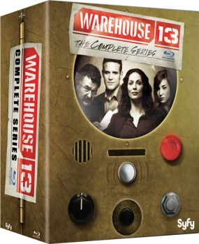 Warehouse 13 - Stagioni 1-5 (2009-2014) [15-Blu-Ray] Full Blu-Ray 575Gb AVC ITA GER DTS 5.1 ENG DTS-HD MA 5.1