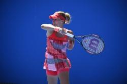 Kristina Mladenovic - 2016 Australian Open Women's Singles First Round @ Melbourne Park in Melbourne - 01/18/16
