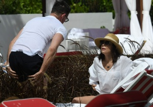 Bethenny Frankel - At a Pool in Miami - March 5th 2017