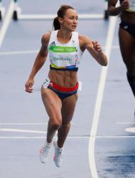 Jessica Ennis-Hill - Rio 2016 Olympics Games: Women's Heptathlon Day One @ the Olympic Stadiumin Rio de Janeiro - 08/12/16
