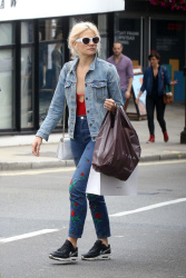 Pixie Lott - Out and about in London 8/8/17
