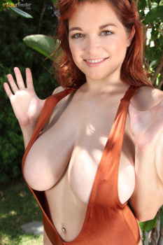 Tessa Fowler - Brown Bodysuit - Set 1