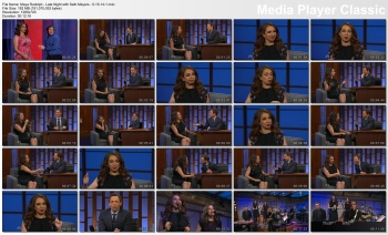 Maya Rudolph - Late Night with Seth Meyers - 5-15-14