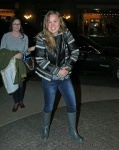 Ronda Rousey returns back to her hotel after rehearsal for Saturday Night Live in NYC January 18-2016 x10