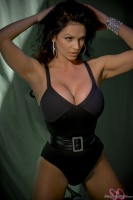 Дениз Милани, фото 5470. Denise Milani Belted One Piece :, foto 5470