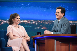 Mayim Bialik - The Late Show with Stephen Colbert: May 11th 2017