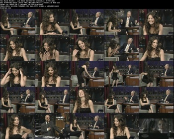 Katie Holmes - Late Show with David Letterman - 6-9-05