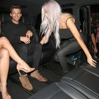 Danielle Campbell & Louis Tomlinson   Leaving Cirque le Soir Nightclub in London on Oct 31