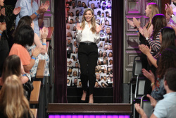 Elizabeth Olsen - The Late Late Show with James Corden: August 9th 2017