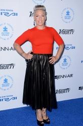 Pink (AKA Alecia Moore) - Autism Speaks To Los Angeles Celebrity Chef Gala @ the Barker Hangar in Santa Monica - 10/08/15