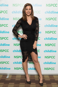 Gemma Atkinson - Childline Charity Ball in Manchester - March 4th 2017