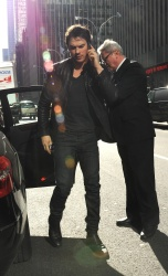 Ian Somerhalder - Arriving at Live with Kelly and Michael in NYC (March 13, 2013) - 18xHQ HVNN3APW
