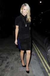 Mollie King - out in London 11/12/13