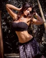Дениз Милани, фото 5610. Denise Milani Summer skirt :, foto 5610