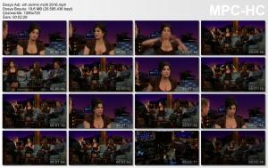 Sarah Silverman, Alicia Vikander The Late Late Show with James Corden 01/04/16