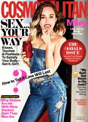 Miley Cyrus - Cosmopolitan Magazine September 2017