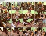 (3d video) school adventure (dream in class)3