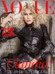 Claudia Schiffer -                       Vogue Magazine (Germany) September 2017 Giampaolo Sgura Photos.