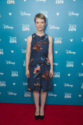 Mia Wasikowska - 2015 D23 Expo Day Two Worlds, Galaxies, and Universes: Live Action @ the Anaheim Convention Center in Anaheim - 08/15/15