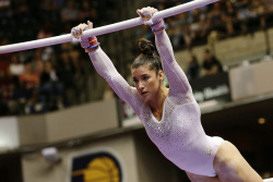 Aly Raisman - 2015 P&G Gymnastics Championships: Day One @ Bankers Life Fieldhouse in Indianapolis - 08/13/15
