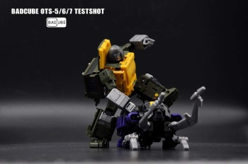 [BadCube] Produit Tiers - Jouet OTS-05 Claymore / OTS-06 Hypno / OTS-07 Kickbutt - aka Insecticons AS52548G
