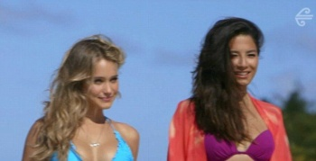 English:Christie Brinkley Ariel Meredith Chrissy Teigen Hannah Davis Bikini New Zealand‭