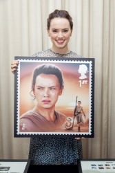 Daisy Ridley - Royal Mail's Star Wars Collection Launch - 10/23/15