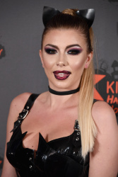 Olivia Buckland - Kiss FM Haunted House Party 2016 @ the SSE Arena in Wembley - 10/27/16
