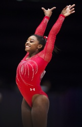 Simone Biles - 2015 World Artistic Gymnastics Championships: Day Five @ The SSE Hydro in Glasgow - 10/27/15